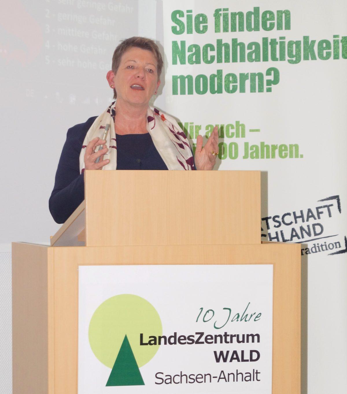 Ministerin Prof. Dr. Claudia Dalbert übernimmt  Schirmherrschaft