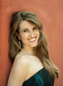 Die Sopranistin Annika Rioux, ist Soloistin beim diessjährigen Benefizkonzert; Bild: Lisa Stern